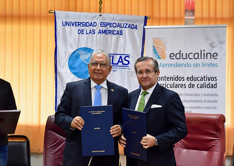 Convenio entre Udelas Panamá y Educaline