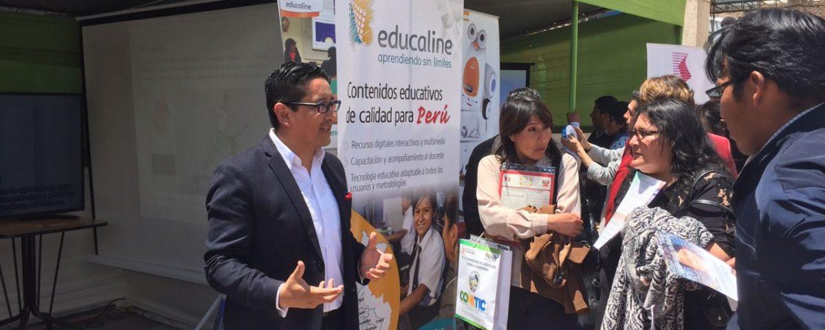 Charlando con docentes en Junín