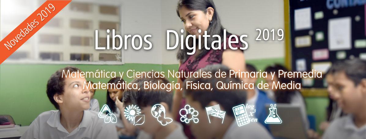 Libros digitales 2019 Panamá