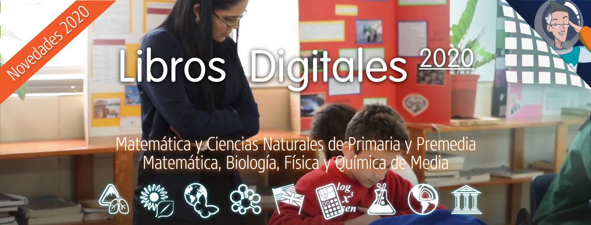 Tienda Educaline de Libros Digitales Educativos 2020